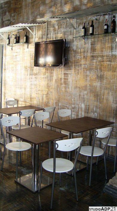 decorazione moderna sala ristorante