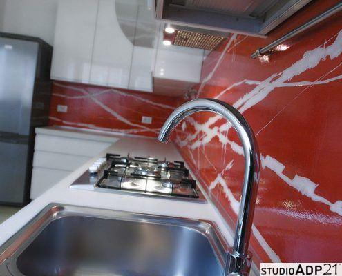 resina decorativa cucina