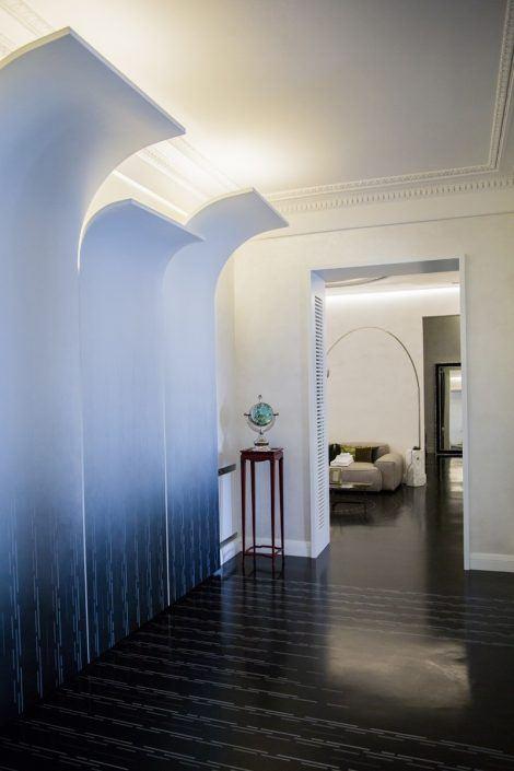 decoro resina pavimento e pareti