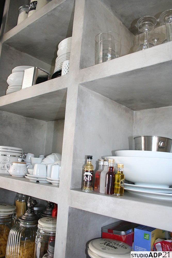 Cucine In Cemento Resina. Affordable La Resina Di Cemento Ha Una ...