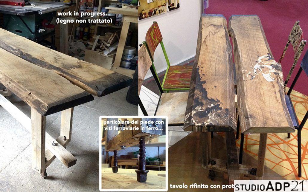 Lavorare Il Legno Grezzo : Falegnameria creativa mobili originali rigorosamante artigianali