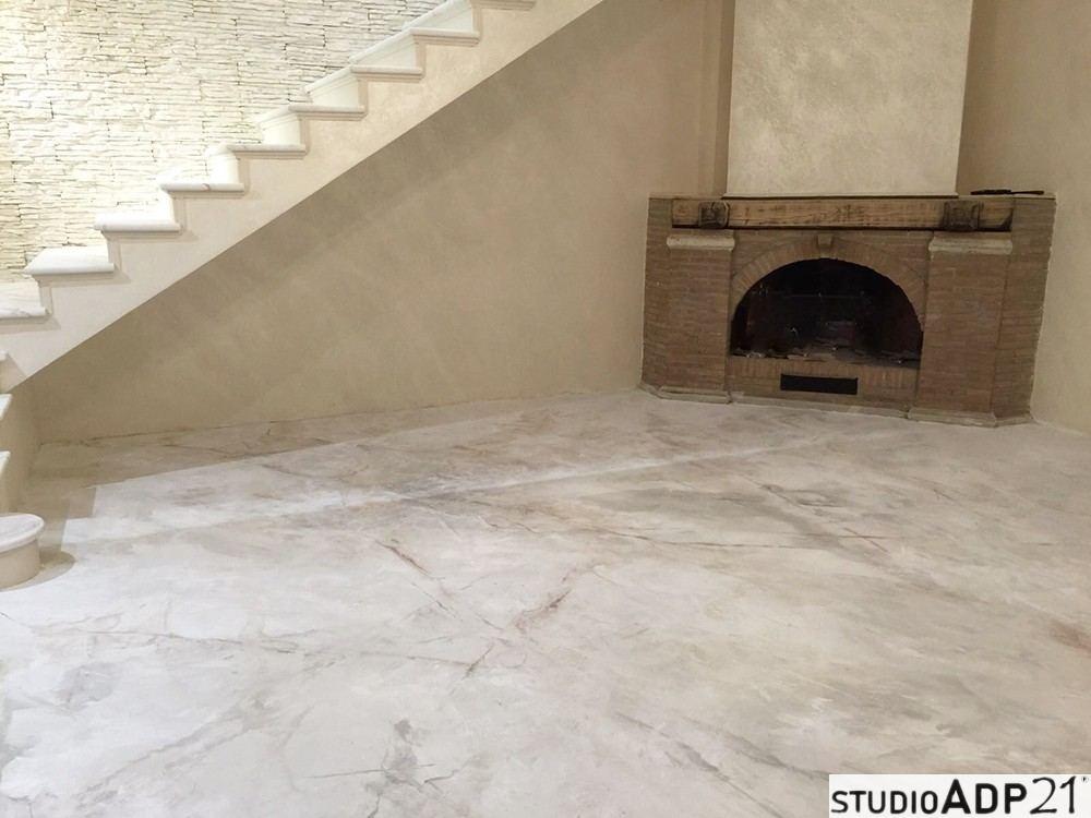 Pavimenti in resina decorativa bellezza e resistenza - Pavimenti decorati ...