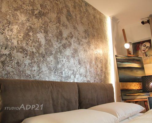 pareti artistiche moderne