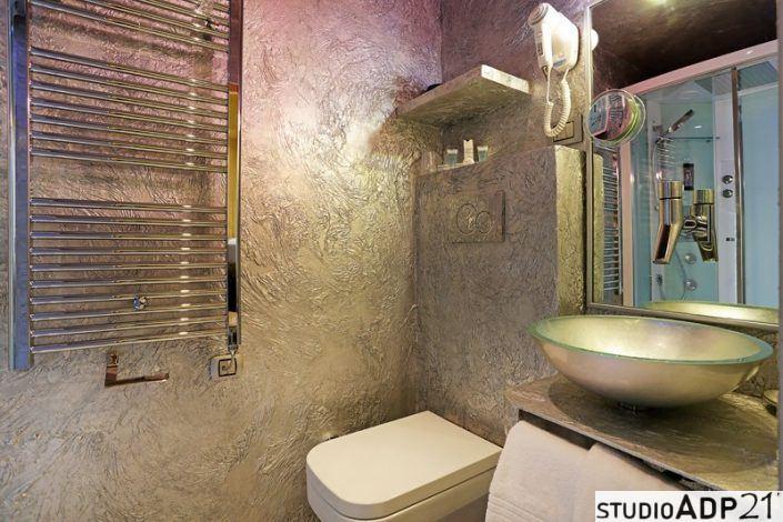 bagno in argento resinato